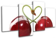 Fruit Cherry Heart Food Kitchen - 13-1178(00B)-MP04-LO